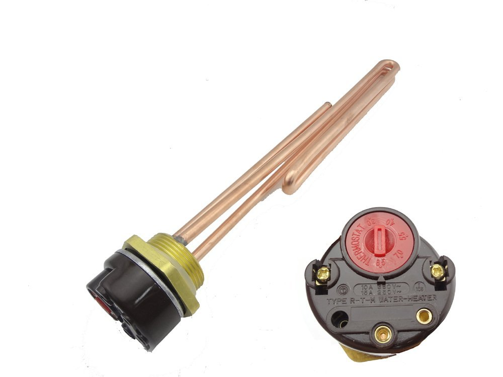 """MISOL 1500W G1.25""""(BSP,DN32) 220V Electrical immersion element booster, with thermostat / booster for water heater"""