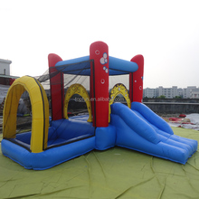 Kids indoor residential inflatable mini airflow bouncer for sale