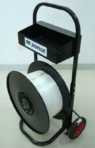 Steel/PP/PET strapping dispenser
