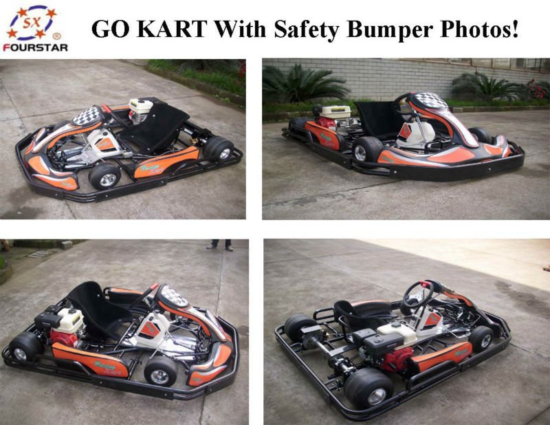 Pedal Go Kart 270cc Honda Engine 4 Stroke Racing Go Kart With Bumper And  Covers Sx-g1101(lx9-a) - Buy Racing Go Karts For Sale 270cc Quad Racing Go