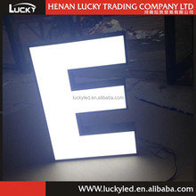 Outdoor Light Box Sign To make Large Restaurant Sign