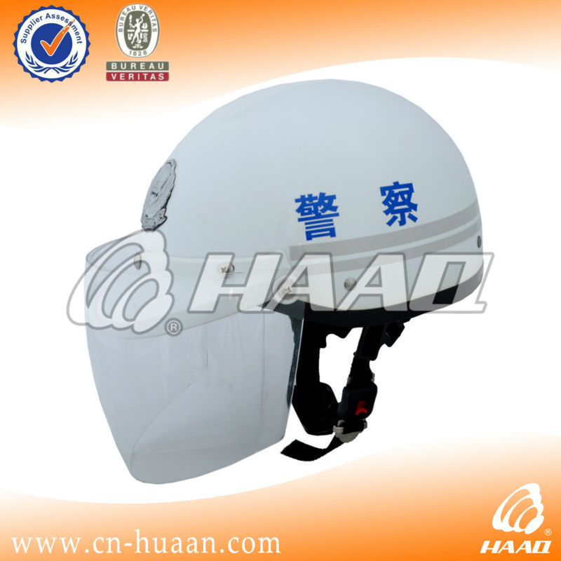 Security helmet for motorcycle