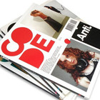 Custom experienced fancy color printing magazine