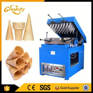 Ice cream cone wafer biscuit machine/automatic egg roll making machine/commercial wafer stick making machine