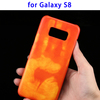 HOT! Thermal Sensor Discoloration Phone Case for Samsung Galaxy S8 Case