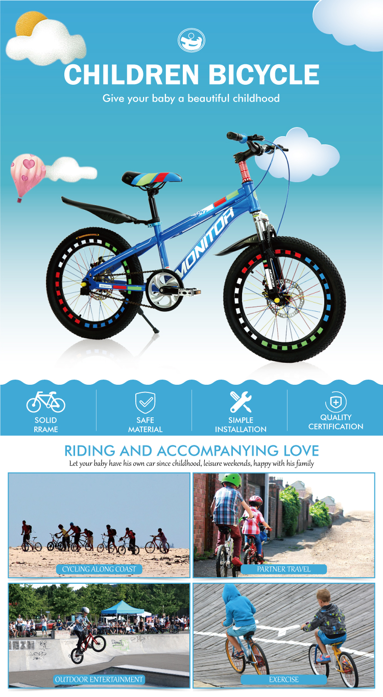 85% assembled bicycle for kids children bike withtraning wheel (bicycle kids)/bicycle for kids children/kids bicycle