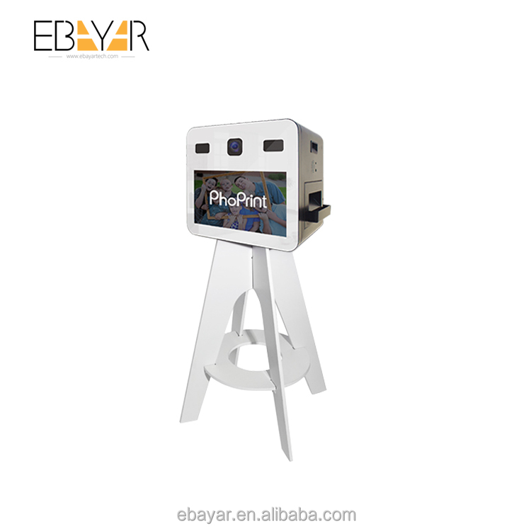 Wedding Photo Booth Machine Portable Party Photobooth Kiosk With Printer and Camera and Software
