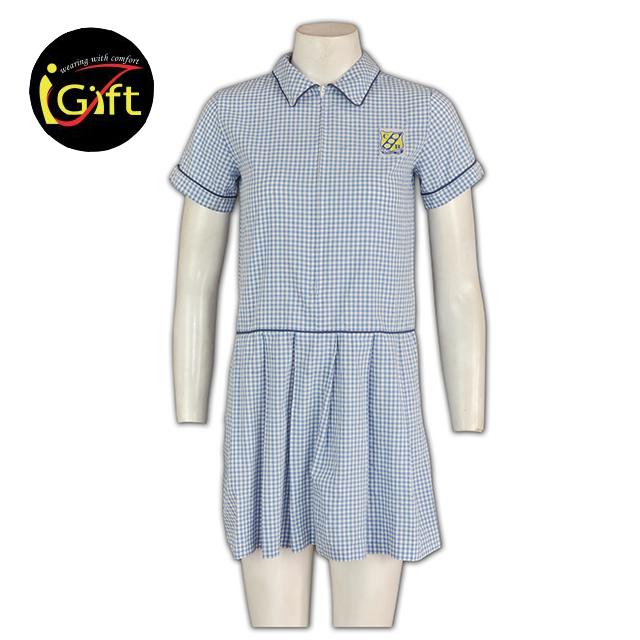 9db2934de Barato y al por mayor manga corta Camisa blanca camisa blanca niñas  uniforme escolar