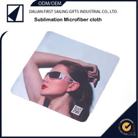 Dual-sided Ultra Fine sublimation print Microfiber Cleaning Cloth for Eyeglass / Screen /lens