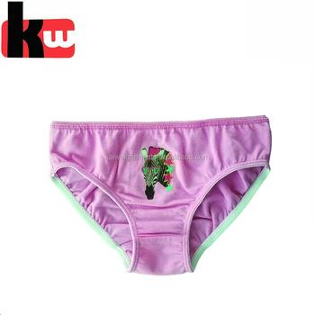 a11f343d851 OEM 100% cotton children modeling panties girls underwear pink panties