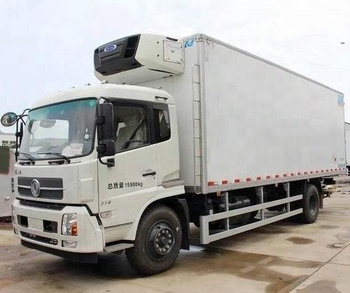 7cd7b71338 8 Ton Capacity Refrigerated Truck 8000kg Loading Frozen Box Lorry 8Ton  Freezer Truck