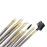 18pcs Nylon hair Wood handle Makeup brush set Shenzhen manufacturer