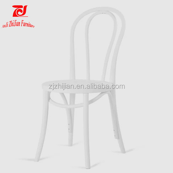 White Bentwood Thonet Chair Coffee Shop Thonet Chair ZJC24
