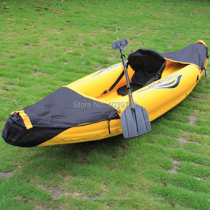Jilong 1 person pathfinder canoe inflatable boat sport