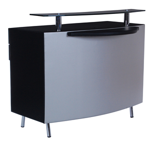 Office Hospital Beauty Salon antique Reception Furniture Desk Modern Front Table tufted reception desk