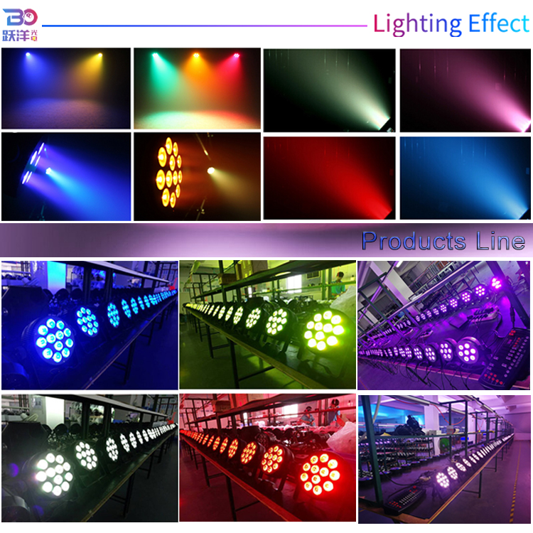wholesale dj equipment led dj lighting 5/7/12 pieces * 8w/10w/12w 4in1 5in1/6in1 led par light with wash performance for stage