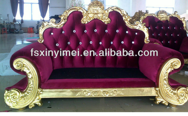 royal comfortable living room double sofa