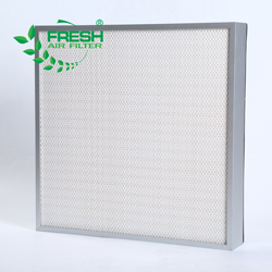 H13 H14 Hospital workshop air purifier equiment deep-pleat air filter HEPA filter