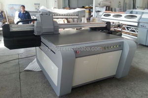 small uv flatbed printer machine for glass,ceramic UVC1309