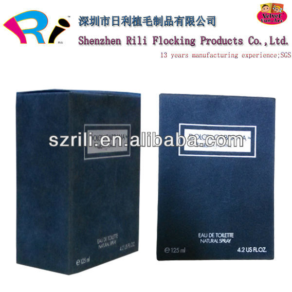 Hot Selling Small Fuzzy Velvet Shipping Gift Boxes for Perfume