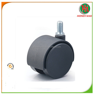 Bifma Certificated 50Mm Black Nylon Office Chair Wheel Casters