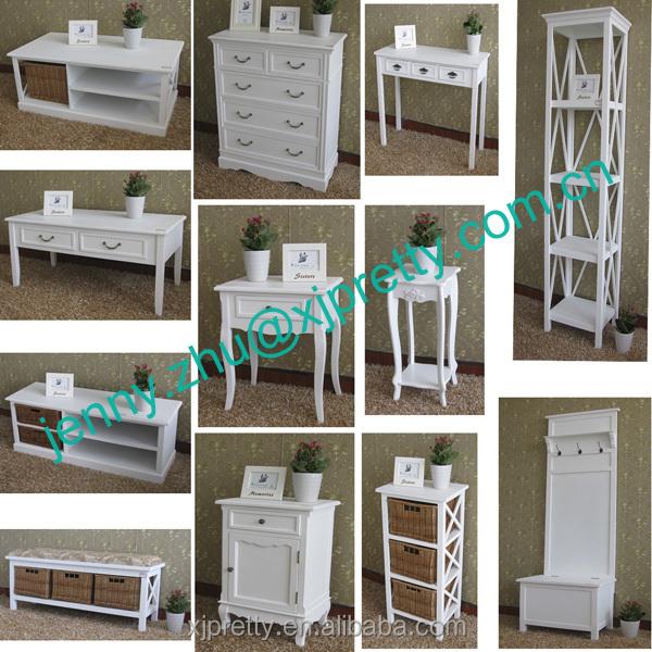 Fabricante de clásico moderno simple mdf muebles hogar cajones