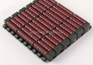 Roller Top Modular Conveyor Belt / Plastic conveyor belt for Packing of Beverage