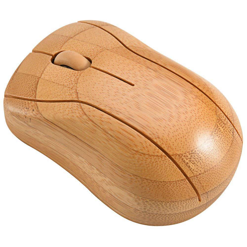 Bamboo Беспроводной Оптический уникальный высокое качество нормальный размер компьютерная мышь