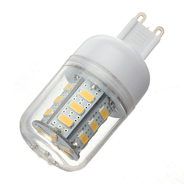 G9 LED Lamp SMD 5730 Corn Light Bulb 220V 5W 24leds Warm/Cold white for Home Business Chandelier Replace 40W Halogen 10pcs/lot