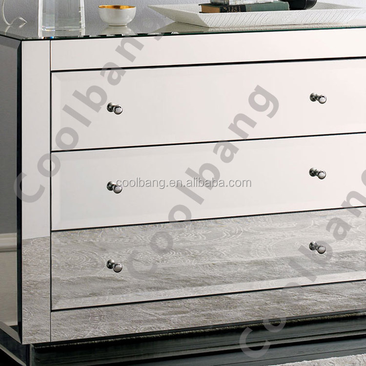 Professional produce large luxury glass shoe cabinet with mirror for hall corner