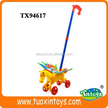 toy horse stick, plastic horse toy for children