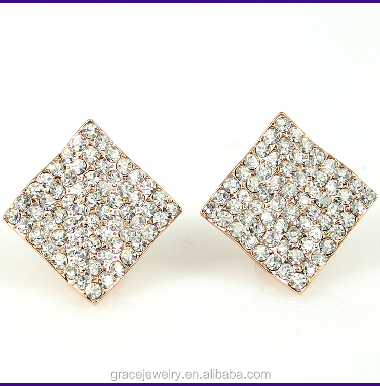 China Supplier Birthday Items Clip on Earrings Wholesale Jewelry