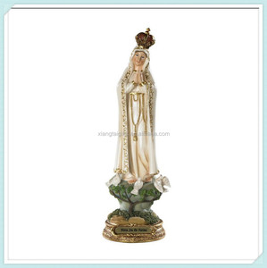 Blessed virgin mary for home or chapel figurine statue