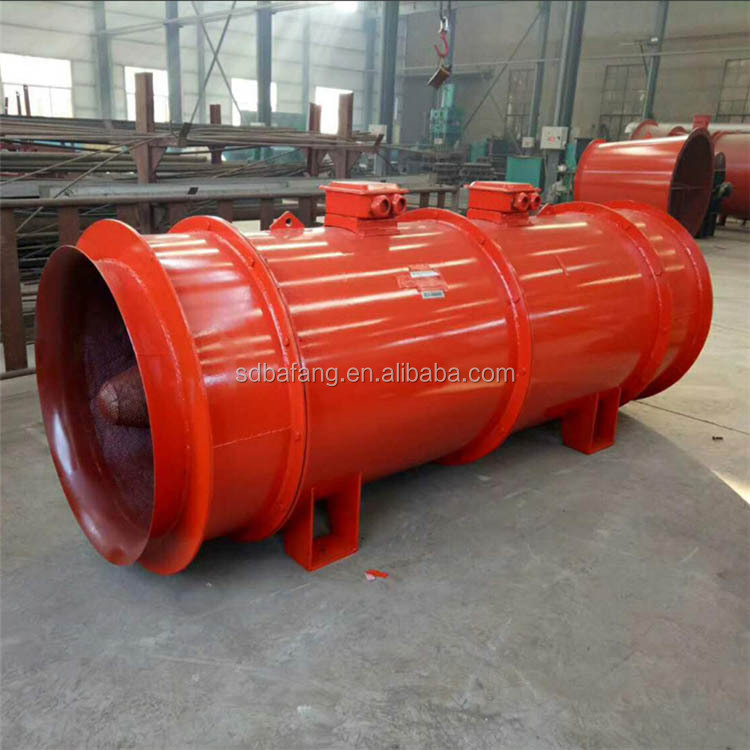 High pressure axial flow fan