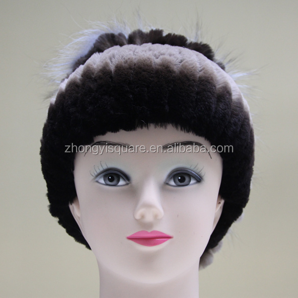 China fur factory 2015 latest design cheap real fur russian hat