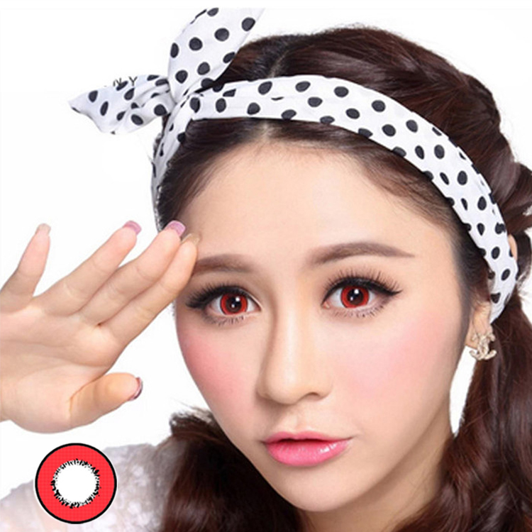 Meetone barbie doll fancy eye colored contact lens