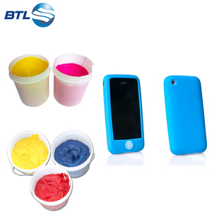Smooth Feeling Silicone Soft Touch Coating For Silicone Phone Case