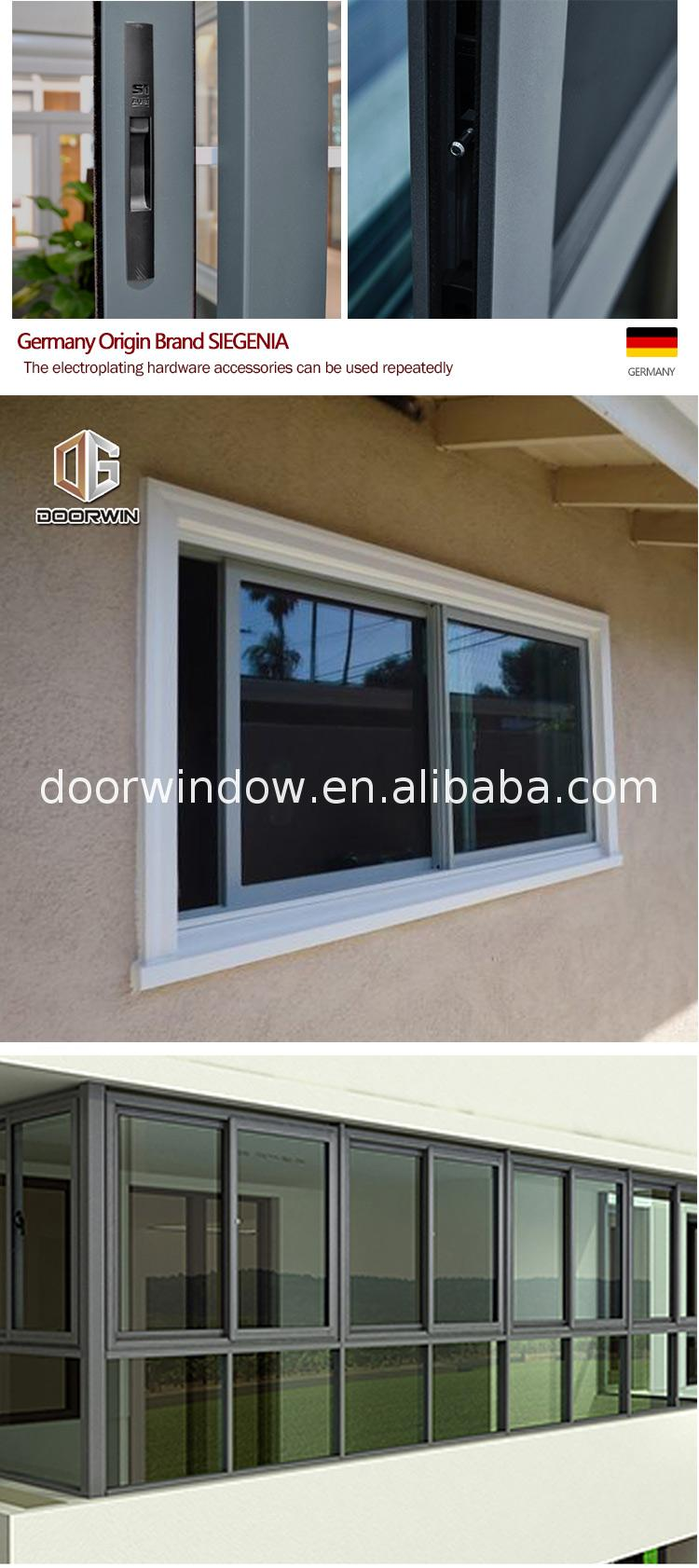 Factory direct sliding window shades sash replacement rate