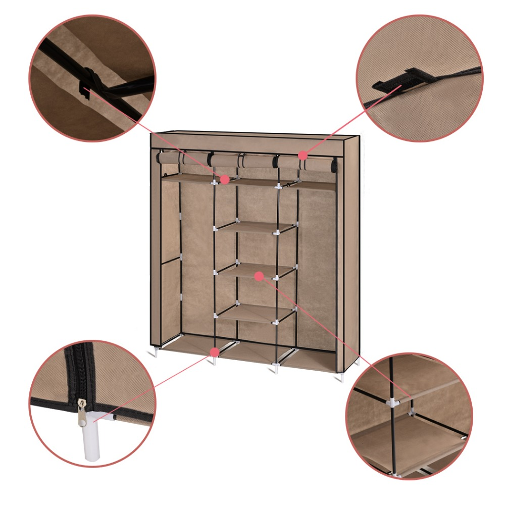 diy m bel tragbare falten stoff tuch stahlrahmen. Black Bedroom Furniture Sets. Home Design Ideas