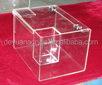 Restaurant clear acrylic flower box/ acrylic shoe box/acrylic display box and Children's toys packaging box