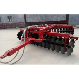 Hydraulic offset heavy duty disc harrow for farmers made in china
