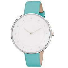Brand Bracelet Dress Women Watches Luxury White Peppermint Green Color Double Face Watch