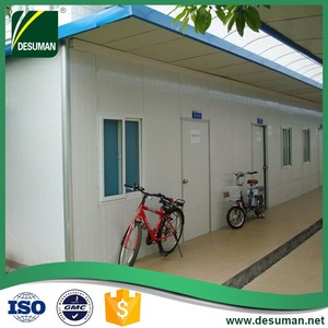 DESUMAN china gold supplier luxurious prefab beach house