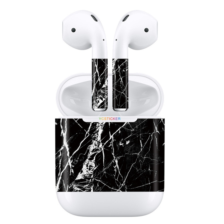 New Products 2017 3M Vinyl Skin Decal Wrap For Apple AirPods Sticker Waterproof Scratch-Proof Ultra-thin Graphic Film