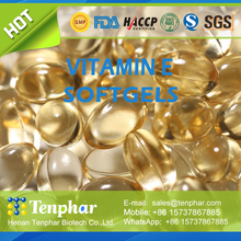 OEM Anti Oxidant Vitamin E Soft Gels Tablets