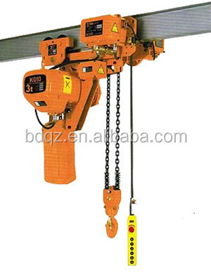 KOIO Chain Electric lifting pulley motor Hoist block electric winch portable power tools made in china