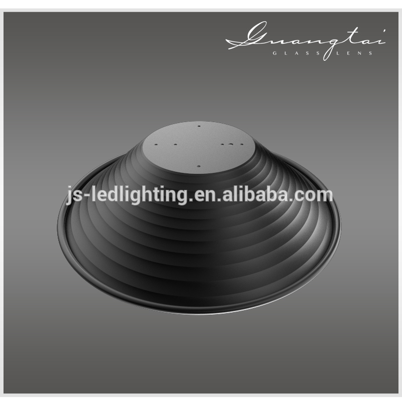Round high bay light reflector housing metal light reflector (R120-402-78-2)