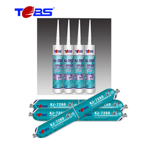 Silicone rubber adhesive liquid neutral sealant caulk