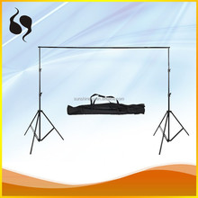 PHOTOGRAPHIC STUDIO KIT 2.4*3M BACKGROUND SUPPORT STAND FOR STUDIO