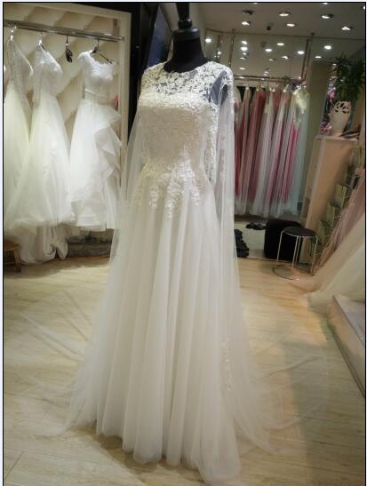 simple korean style wedding gowns and bridal dress